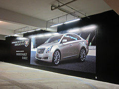 Retail, Cadillac at the Grove, Banner