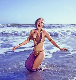 1982 ... Leia takes a dip!