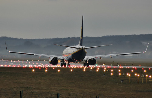 Boeing 737-8AS, Ryanair, Cracow - Balice / John Paul II International (KRK / EPKK)