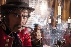 Dante Fontana (Lo_straniero) Tags: cinema smoke dantefontana cinematographicportrait revoxb77 younesstaouil wwwyounesstaouilcom