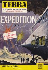 Terra 202 (micky the pixel) Tags: sf expedition raumschiff sciencefiction spaceship pulp terra zukunftsroman groschenheft khscheer moewigverlag