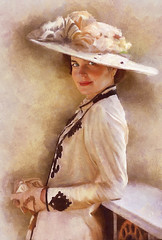 Retrato (zubillaga61) Tags: portrait painterly mujer women retrato victorian victoriano corelpainter dap elizabethmcgovern downtonabbey