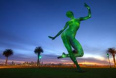The Bliss Dance (Mike_Valera) Tags: sanfrancisco sunset art canon treasureisland hdr 6d indurotripod theblissdance induroct214