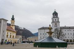 Residenzplatz (timohannukkala) Tags: salzburg austria nikon altstadt oldtown residenzplatz d7100