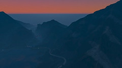 sunset from frogger (Pixel Within) Tags: auto california lighting county sunset game colour lens landscape la video screenshot graphics crossprocess satire grand screen hollywood flare gradient parody grab gta theft blaine lossantos screenie vinewood