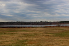 Colors of late Winter (Sam0hsong) Tags: winter day cloudy northcarolina lakecrabtree