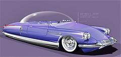 1959 CITROËN ID 19 Bubble-Top concept car (ClassicsOnTheStreet) Tags: citroën id 19 bubbletop concept car 1959 prototype conceptcar snoek strijkijzer deesse godess godin id19 ds fantasy