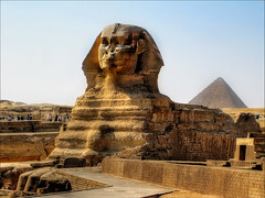 Great Sphinx of Giza (Sunset Dogs) Tags: