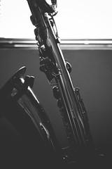 Robert (bigillu) Tags: portrait bw music silhouette stand jazz artsy instrument funk sax brass saxophone woodwind barisax baritone