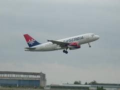 Airbus A319 YU-APE AirSerbia (propalipilot) Tags: fly airport serbia airbus boeing belgrade airways airlines lufthansa beograd turkish tesla aerodrom srbija nikola atr aviolet avioni