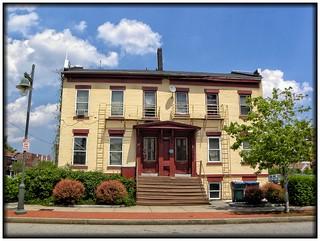 Rochester NY ~ Washington Street Rowhouses ~ Historical 1840