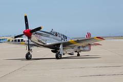 P-51 (xythian) Tags: california ca mountainview moffettfield p51 wingsoffreedom post:slug=20140524wingsoffreedommoffett post:title=wingsoffreedomatmoffettfield