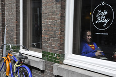 Superman rettet Europa - aber erst morgen (RadarO´Reilly) Tags: street maastricht europa superman nl fiets fahhrad strase