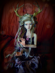 HEKAT (anasissammael) Tags: angel forest witch kelly bjd magical wicca mori abjd pagan hekat