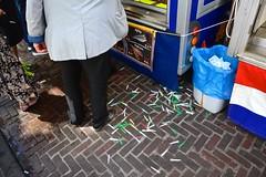 Plastic forks (Michiel2005) Tags: fish holland netherlands leiden market nederland fork markt vis vork vorkjes