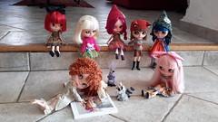 Décidemment, j'ai bien peur que ce livre (The little mischiefs de Dollytreasures) ne leur donne de mauvaises idées ! surtout à Lilly...