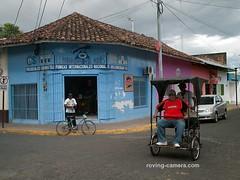 Street Corner in Rivas, Nicaragua, 2015 (deemixx) Tags: nicaragua rivas streetphotography travelphotography pedicab latinamerica centralamerica