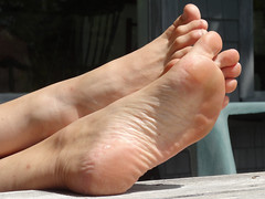JanF207sized (thermosome) Tags: foot feet mature soles wrinkled milf