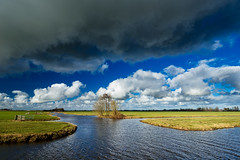 20170224-Canon EOS 6D-2577 (Bartek Rozanski) Tags: driebruggen zuidholland netherlands greenheart groenehart holland nederland reeuwijkseplassen oukoop rural europe cloud storm windy spring