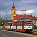 Tatra-Zug 1069/150 kurz vor der Haltestelle Caraimanul