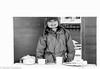 Childhood (daniel.gogberg) Tags: bw monochrome blackandwhite blackwhite poträtt sv svartvitt playing leker cafe café smile fuji xpro xpro2 fujixpro fujixpro2 prime primelenses