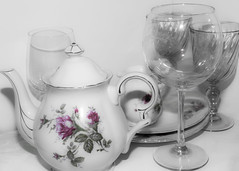 China and goblets (pollys belvin) Tags: china goblets pentaxart