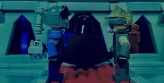 Darth Vader - Volume 1 - Heir to the Empire Part 15 (Supremedalekdunn) Tags: lego star wars darth vader dark lord sith heir empire sidious emperor palpatine story group side light jedi saber mask anakin skywalker blackandwhite destroyer galactic soontir fel indoor