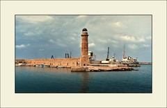 Memories of Rethymno .... 9 years (piontrhouseselski) Tags: greece crete rethymno harbour tower