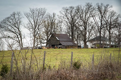 Farm - Oconee Co., S.C. (DT's Photo Site - Anderson S.C.) Tags: canon 6d 24105mml lens westminster oconee county southcarolina country roads farm pasture barn cattle fence barbed wire grazing vanishing southern american landscape