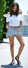 Ashley Madekwe Little Jogger (Red Neptune) Tags: celebrity giantess feet sandals unaware gts shrunkenman sm ebony