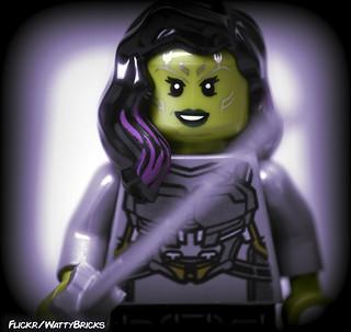 Portrait:  Gamora