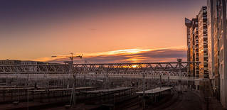 Sunrise @ Oslo Central Station
