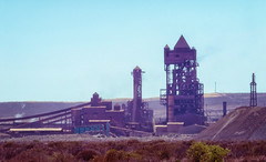 0Z4A9197-Edit (francois f swanepoel) Tags: heatwaves hittegolwe industrial industriëel ironore mirage rocket saldanha ystererts launchpad