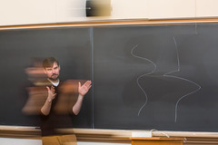 A Lesson of Time and The River (Knox College) Tags: knoxcollege students philosophy class oldmain blackboard politebrandon36418
