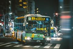 MITSUBISHI FUSO Aero Star_QKG-MP37FKF_Adachi200Ka2791 (hans-johnson) Tags: kanto transportation transport transit tokyo chiyoda marunouchi yurakucho bus toei toeibus japan nihon nippon canon eos eos5d 5dm3 70200 車輛 戶外 5d green citybus loop evobus vehicles vehicle vscocam vscofilm mitsubishi mitsubishifuso fuso aerostar aero star 5d3 tokai vsco night light 70200mm traffic street outside outdoor out metropolis metropolitan urban city aisa asian public fullframe auto