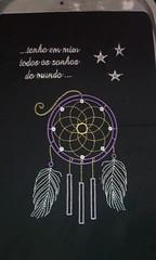 Caça sonhos (leonilde_bernardes) Tags: mala bag sac caçasonhos reves dreams bordados handcraft