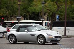 Spotting 2013 - BMW Z8 (Deux-Chevrons.com) Tags: bmwz8 bmw z8 roadster cabriolet car coche voiture auto automobile automotive spot spotted spotting croisée rue street france paris youngtimer