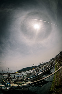 大海漁港にてーAt Oomi Fishing port