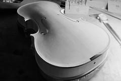 Point of View 2 (emanuele_f) Tags: violin violino liuteria violinmaking workshop mamiya press mamiyapress 6x9 rangefinder tilted sekor 65mm f63 fuji acros100 r09 rodinal mediumfomat film analog blackandwhite