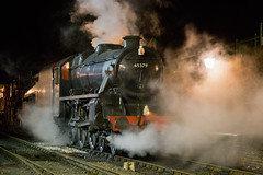 LMS 5MT 45379 photo shoot at Ropley (daveymills31294) Tags: lms 5mt 45379 ropley black 5 watercress line mid hants railway