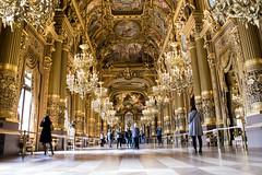 Garnier Palace, Paris (Carlos Carazo Photography) Tags: paris france europe europa luxury gold palace nikon nikond5500 amazing travel wanderlust viajar garnier art painting sculpture opera oro