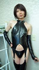 _IMGP5234 (kisaki inao) Tags: crossdresser pvc playsuit fetish cosplay