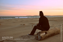 Self-Portrait: Solitude (judetibay) Tags: california sunset selfportrait beach point marin national selfportait pointreyes seashore reyes limantour