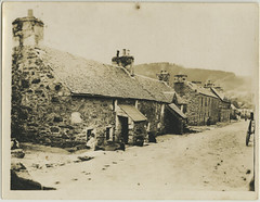 Chapel Street, Aberfeldy, late 19th cent (P&KC Archive) Tags: building tourism fashion sport architecture scotland 19thcentury perthshire scene housing recreation roads royalty aberfeldy spectacle perthandkinross