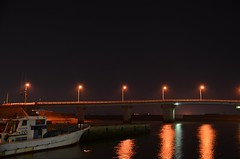 Isshiki Bridge Night view (deep.deepblue) Tags: japan nightview aichi nikond5100
