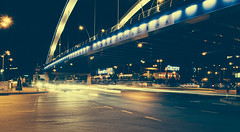 Day 22 - Rush hour at midnight (Alexandru Georgescu) Tags: longexposure sony rush hour midnight 365 nex nex5 sonynex graozavesti