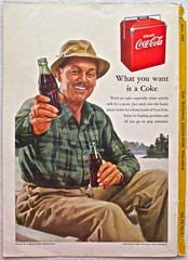 1952 - 1950s Vintage Coca Cola Advertisement From National Geographic Back Page 26 (Christian Montone) Tags: vintage ads advertising coke americana soda cocacola advertisements sodapop vintageads vintageadvert