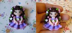 rose&purple doll (ladycupcake80) Tags: doll dolls fimo kawaii bambolina bamboline