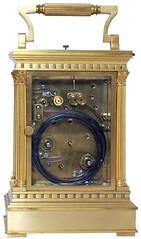 Pendulette Armand Couaillet, 1948 (musee de l'horlogerie) Tags: clock museum de carriage musée armand horlogerie saintnicolasdaliermont lhorlogerie couaillet museehorlogerie