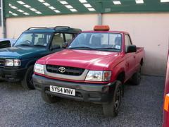 DSCN3395. SY54 WNV Toyota hi-ace 4x4 pick-up (ronnie.cameron2009) Tags: scotland scottish pickup toyota mart dingwall scottishhighlands rossshire highlandsofscotland rosscromarty humberston salebyauction other4x4s dingwallrosscromarty humberstonauctionmart humberstonauction highlaandsofscotland scottishhighlandsofscotland dingwallhighlandauctionmart